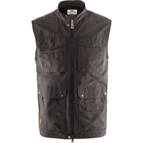 Fjällräven Travellers MT Vest Heren, dark grey